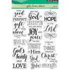 Penny Black PB30429 Clear Stamps 5X7 Gifts From Above