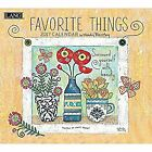 Cal 2017 Favorite Things 2017 Wall Calendar (Deluxe Wall), Stapled, Used; Very G