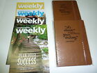 2 Weight Watchers 2017 SMART Points JOURNALS Diaries  4 Weeklies from 2016