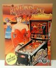 RIVERBOAT GAMBLER By WILLIAMS 1990 ORIGINAL NOS PINBALL MACHINE FLYER