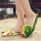 cheap Unisex fish style beach slippers breathable summer sandals pool Flip flops