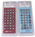 Living Solutions COLOSSAL Universal Remote Control LOT OF 2 HUGE 11 INCH Remotes