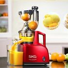 SKG A8 Slow Juicer Big Mouth, Large Wide Mouth. Don't need to cut the fruits