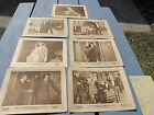 LOT OF 7 MADLAINE TRAVERSE WILLIAM CONKLIN SILENT FILM MOVIE LOBBY CARDS POSTERS