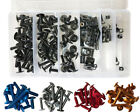 Universal Windscreen Fairing Bolts Kit Fastener Screws Set Motorcycle Sportbike