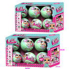 8Pcs LQL SURPRISE DOLL 1 Lil Sisters Ball 7 Layers Series Surprise Kids Xmas Toy