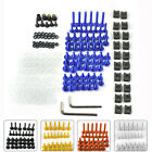 Complete Fairing Bolt Kit Screws Nuts For Kawasaki Suzuki GSXR Honda CBR Yamaha