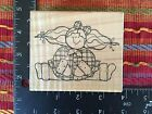 JRL Design Silly Sally Country Girl Rubber Stamp