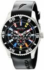 Nautica N12626G Mens NST 07 Flags Classic Stainless Steel Watch