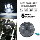 5.75''  Projector LED Headlight For Harley Super Glide Custom FXDC