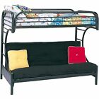Bunk Bed and Couch Black Full SizeTwin and Futon Mattress for Kids and Teens