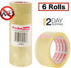 Scotch Moving  Storage Packing Tape 6 Rolls Shipping Packaging