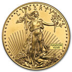 Random Year 1 oz Gold American Eagle Coin Brilliant Uncirculated