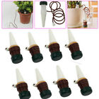 8X Garden Automatic Plant Watering Spikes System Drip Spike Flower Waterer NEW