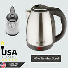 Electric Kettle Hot Water Pot Portable Boiler Stainless Steel Coffee 2.0 LITER