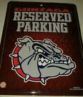 Gonzaga University Bulldogs NCAA Reserved Parking sign