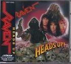 RAVEN Heads Up JAPAN CD VICP-2065 1991