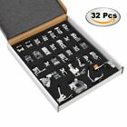 Professional Domestic 32 PCS Sewing Foot Presser foot Presser Feet Set for And