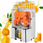 Commercial Electric Orange Squeezer Juice Tea-Houses Stainless Dirnk Shop AUTO