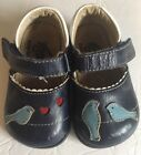 Toddler Girls See Kai Run LEATHER Mary Jane Shoes Blue Size 4