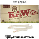 Raw Organic 1 1 4 Size Pre rolled Cones with Filter 225 Pack