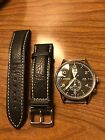 Junkers G38 Dual Time GMT wrist watch