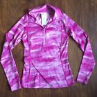 Under Armour Cold Gear Purple Pink Long Sleeve Top Womens Small