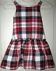 The Childrens Place size 5 little girls red plaid jumper