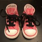 Baby Girl Pink High Top Converse Size 5