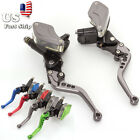 7 8 Motorcycle Master Cylinder Hydraulic Levers For Yamaha Ducati 50CC 300CC