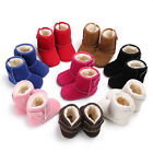 Newborn Baby Boys Girls Snow Boots Winter Warm Soft Sole Crib Kids Shoes Booties