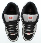 Globe Mens Scribe Skate Shoes Black And Gray Size 85 Retail 60