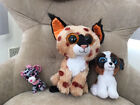 Three Beanie Boos in 3 sizes - Used, no tags, but excellent condition