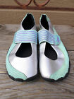 Zem Gear Gray Green Poron performace Athletic Shoes Womens 9