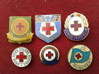 Red Cross Vintage Enamel Pins Badges Sale Collection Original Souvenir Sale