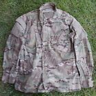 US ARMY Issue AA Multicam Camo Combat Shirt Coat FR Insect LARGE Long b