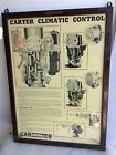 Vintage CARTER CARBURETOR Buick Cadillac Chevrolet Olds Pontiac DEALER CARB SIGN