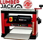 New Lumberjack Portable Wood Bench Planer Thicknesser with Blades x 1500w 240v