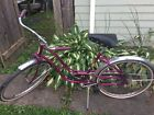 Vintage Western Flyer 26 Girls Womans Cruiser Bike Bicycle Purple