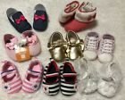 8 Pairs New Lot 0 18 M Baby Girl Crib Soft SoleShoes Boots Warm Winter Fall