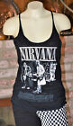 NIRVANA SKIMPY THIN TANK TOP BAND SHIRT GOTH GRUNGE ROCK STREET PUNK