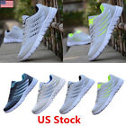 US HOT Mens sports shoes Breathable Sneakers Casual Shoes Running Shoes Trainer