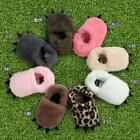 US Newborn Baby Animal Claw Slippers Shoes Kid Winter Warm Soft Indoor Boots