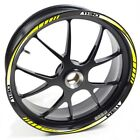 USEN Sticker wheel Rim Benelli TRE K 1130 K1130 Yellow strip tape vinyl adhesive