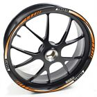 USEN Sticker wheel Rim Mv Agusta Brutale 989 R 989R Orange strip tape vinyl adhe