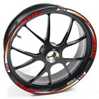 USEN Sticker wheel Rim Derbi GPR 50 GPR50 GPR-50 Racing Red strip tape vinyl adh