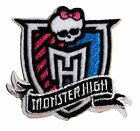 MONSTER HIGH Logo 2 1 2 Embroidered Iron On Sew On Patch