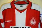 Umbro Vapa Tech Greece Olympiakos Soccer Futbol Jersey Mens Size Medium