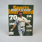 Mark McGwire St. Louis Cardinals Signed Sports Illustrated JSA