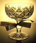 Waterford Crystal Donegal Champagne/ Tall Sherbet Glass/ Glasses- Mint, Ireland